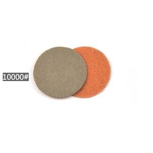 Image 3 - POLIWELL 50 sztuk 1 Cal Grit 1000/3000/5000 tarcze szlifierskie wodoodporna uciekają papier ścierny do małej powierzchni w porządku do polerowania