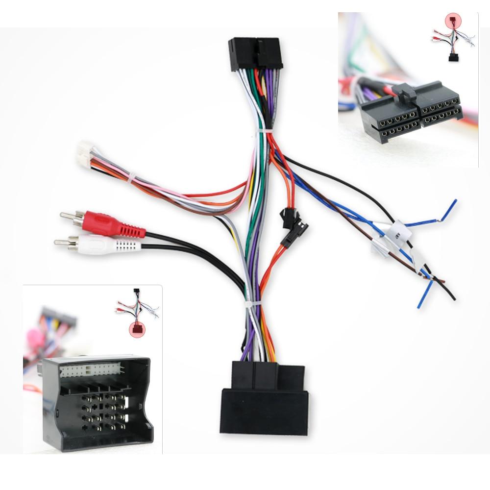 Специальный кабель питания для Volkswagen, подходит для Bosion, автомобильного dvd-радио