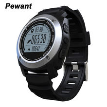 Pewant GPS Sports Smart Watch S928 With IP66 Life Waterproof Heart Rate Monitor Pressure Smartwatch For Android 4.3 IOS 8.0