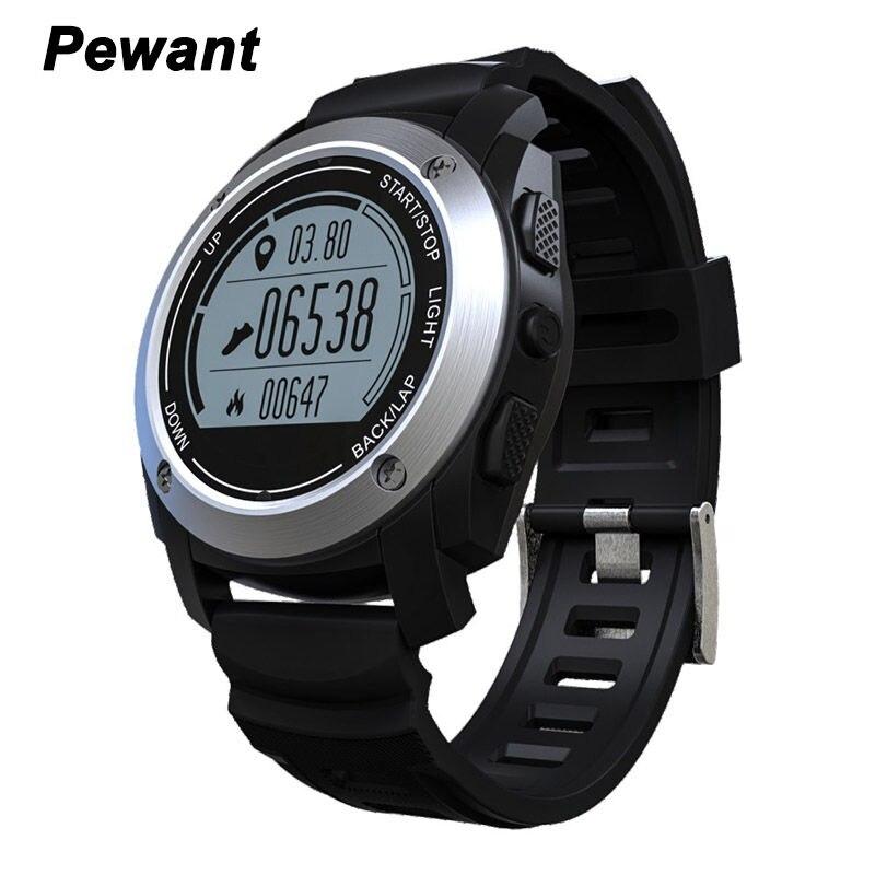 Vida pewant gps deportes smart watch s928 con ip66 impermeable monitor de ritmo
