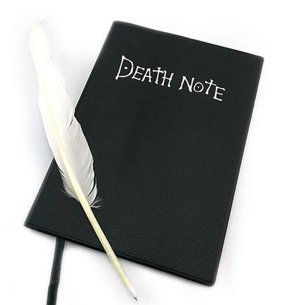 Lovely Fashion Anime Tema Moartea Notă Cosplay Notebook New Scoala - Blocnotesuri și registre - Fotografie 4