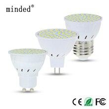 E27 GU10 MR16 Lampada LED Bulb 220V Spotlight LED Lamp 48led 60led 80led 2835 Lampara Spot Light 230V Cold / Warm White