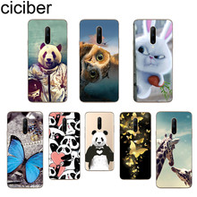 ciciber Cute Panda Phone Cases For Oneplus 7 Pro 1+7 Pro Soft TPU Cover for Xiaomi 9 Coque For Redmi Note 7 6 Pro Fundas Shell