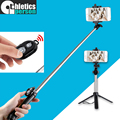 ATHLETICS Handheld & mini Tripod 3 in 1 Self-portrait Monopod Phone Selfie Stick Bluetooth Remote Shutter for iPhone Sumsang