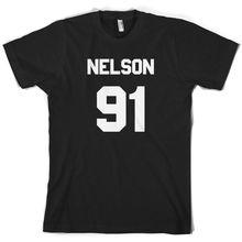 Nelson 91 - Mens T-Shirt Jesy Music 10 Colours Free UK P&P Print T Shirt Short Sleeve Hot  free shipping