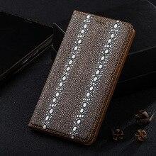 Жемчужина рыбы текстура кожаный чехол для sony xperia z5/z5 compact/z5 премиум магнитный стойки сальто мобильного телефона case + подарок