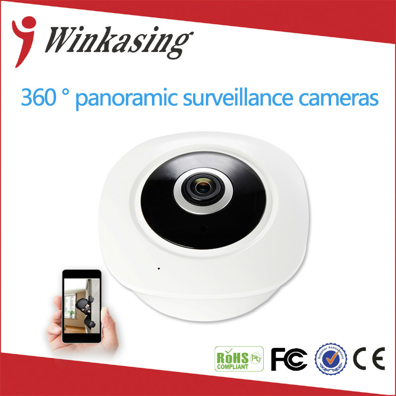 HD FishEye IP camera wi-fi  360 Degree Mini WiFi Camera 3MP Network Home Security Panoramic Camera IR Surveillance Camera new hd 3mp led bulb light wireless camera fisheye panoramic wifi network ip home security camera system for ios android p2p