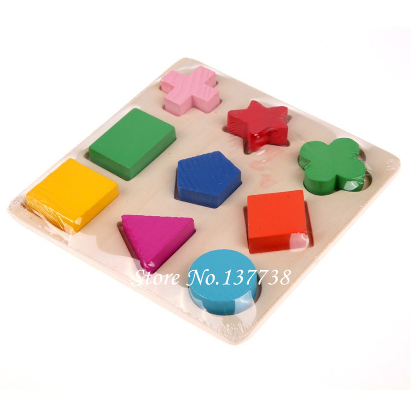 Hot Sale 1Pcs Wooden Square Form Puzzle Toy Tidlig Educational - Puslespill - Bilde 5