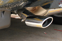 Stainless Steel Rear Tail Pipe End Tip Exhaust Muffler 1pcs For Freelander 2 2008-2015 Car Styling accessories!