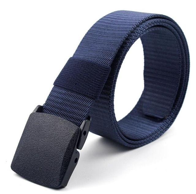 Military Nylon Adjustable Outdoor Travel Tactical Waist Belt 6