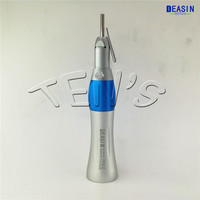 1 pcs x dental Slow speed straight handpiece with external water irrigation spray tube free shipping