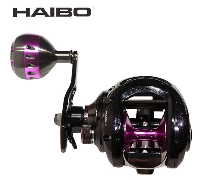 Haibo THUNDER Baitcasting Fishing Reel For Sea 7 1 1 10B RB Magnetic Brake Drag Force