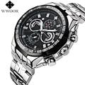 Men Watches Luxury Brand WWOOR Waterproof 50m Japan Quartz Sports Watch Casual Military Wrist Watch Men Clock relogio masculino