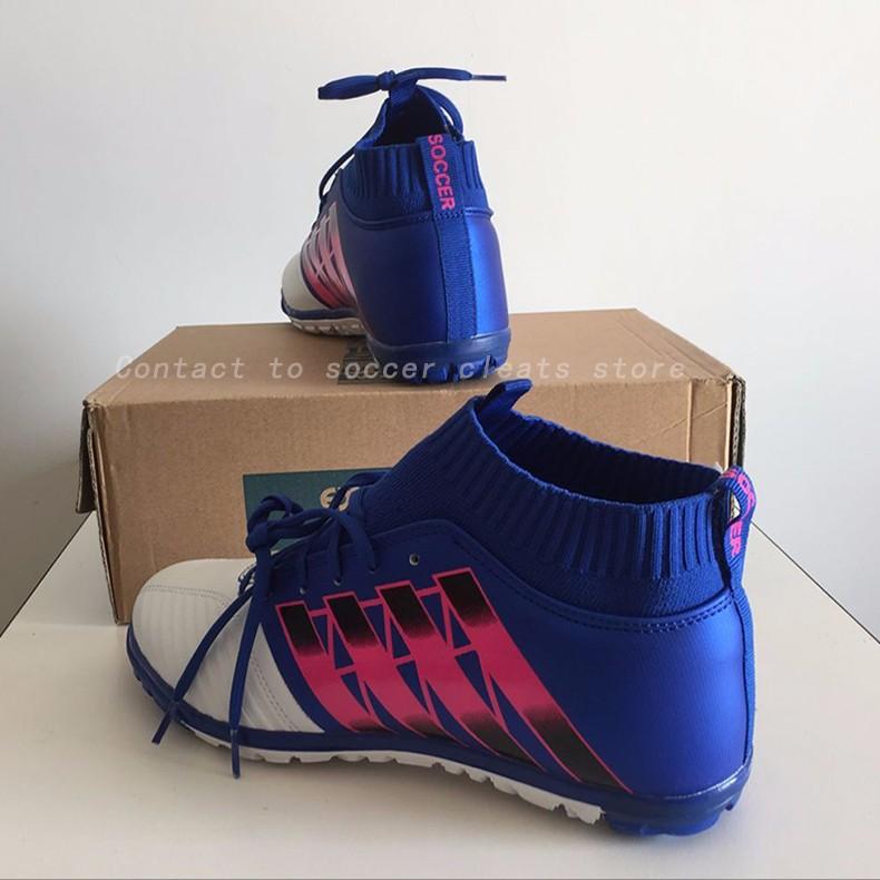 Men's Soccer Shoes TF Futsal Hard Court Turf Football Boots Indoor Sock Cleats Trainer Cheap Botas Chuteira Futsal Shoes2