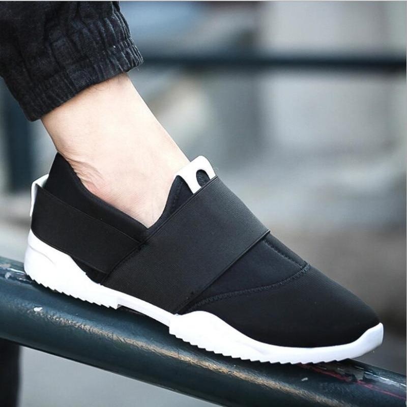Dört mevsim yeni erkek ayakkabı İngiliz nefes erkek kanvas - Erkek Ayakkabıları
