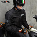NERVE Motorcycle Jacket Waterproof Brand Racing Suit off-road Cycling Jersey Motocross Moto Protecion Windproof Clothing for Men