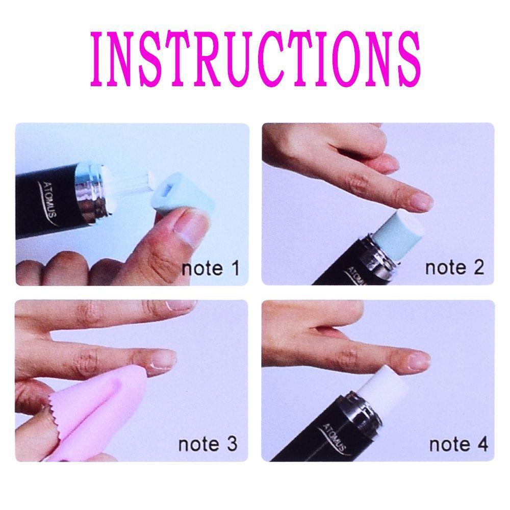 ATOMUS Elektrische Nail art Tipps Maniküre Werkzeuge Nagelpflege ...