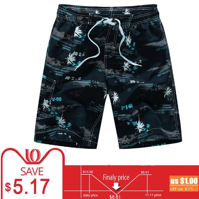 db7632c7c2e Plus Size 5XL 6XL Mens Shorts Summer Floral Printed Hip Hop Beach Shorts  Male Boardshort Swimsuit Brand Bermuda Board Casual