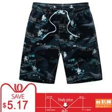 0ff4d4a573673 Plus Size 5XL 6XL Mens Shorts Summer Floral Printed Hip Hop Beach Shorts  Male Boardshort Swimsuit Brand Bermuda Board Casual