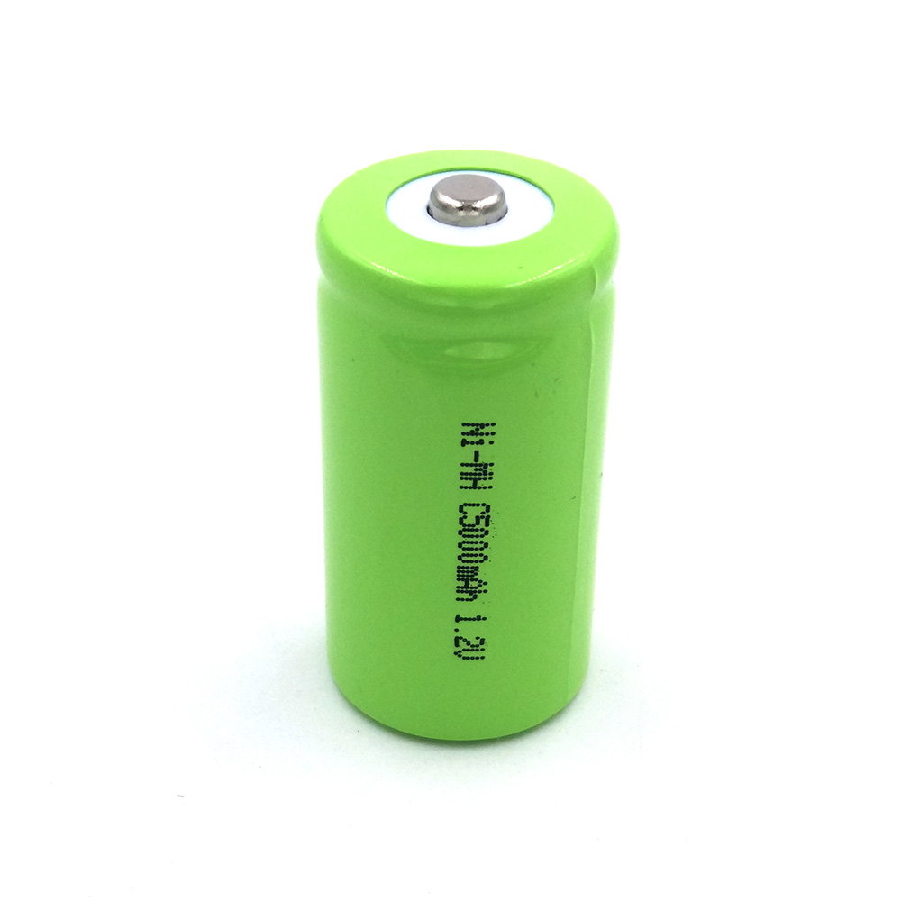 Ni-Mh C 5000mah 4pieces recharger Rechargeable two number battery batteries C R14 Size
