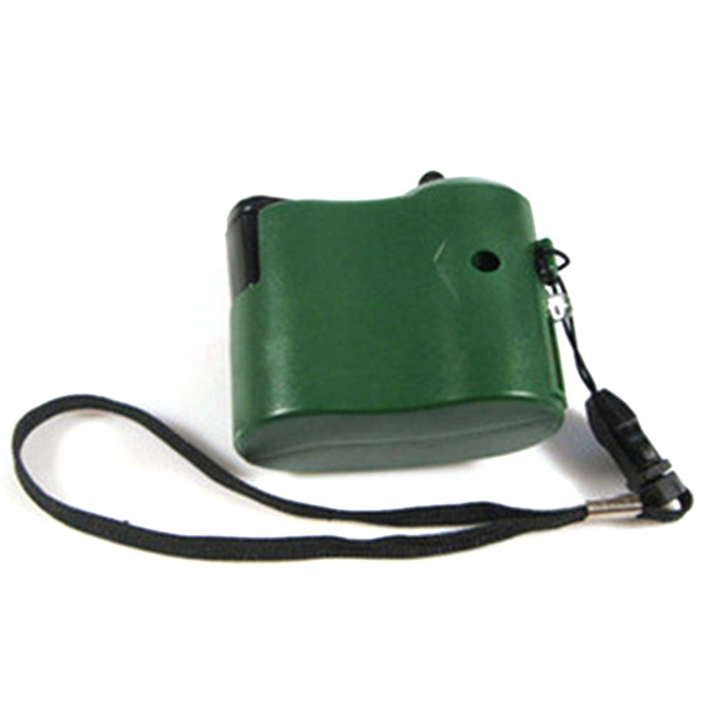 Outdoor Tool Mini Hand-Crank USB Radio Flashlight Cell Phone Charger Manual Emergency Power Generator Charger For Travel Outdoor