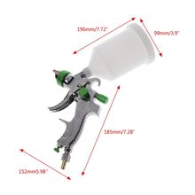 1.4/1.7/2.0mm G2008 Nozzles HVLP Spray Gun Set Sprinkling Paint Can With High Working Pressure Professional Atomizer For Car Rep
