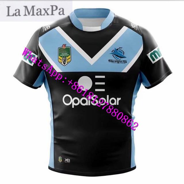 La MaxPa for 2018-2019 shark stadium Rugby suit S-XXXL