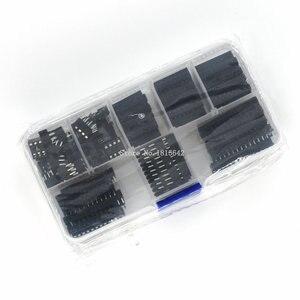 Image 4 - 66 개/몫 dip ic 소켓 어댑터 솔더 타입 소켓 키트 6,8, 14,16, 18,20, 24,28 핀 신규