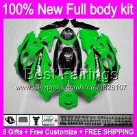 Gloss green Fairing For SUZUKI KATANA GSXF750 GSXF600 98 99 99 01 02 6B4 GSX600F GSXF 600 750 1998 1999 2000 2001 2002 +Decal