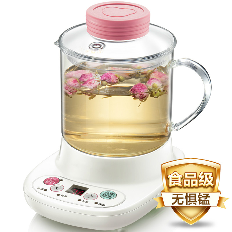 NEW Office health pot automatic thickening glass multi-functional flowerNEW Office health pot automatic thickening glass multi-functional flower