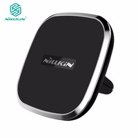Nillkin Car Magnetic QI Wireless Charger Air Vent Mount Wireless Charging Pad For Samsung Note 5