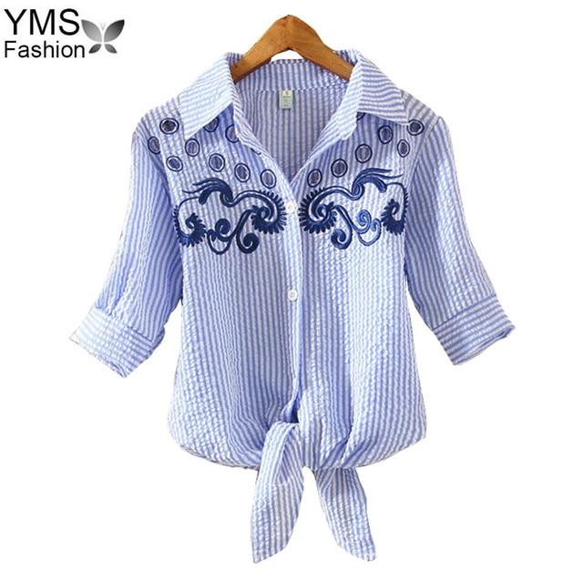 Aliexpress Buy 2018 Summer Women Embroidery Shirt Blouse