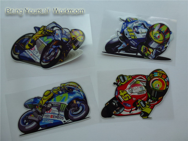 Aliexpresscom  Buy Hot MOTO GP VR  Rossi Stickers Motorcycle - Vinyl stickers for motorcycle helmets