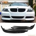 Fit 2005 2006 2007 2008 BMW E90 325 328 330 335 OE Style PP Front Bumper Lip Spoiler Body kits