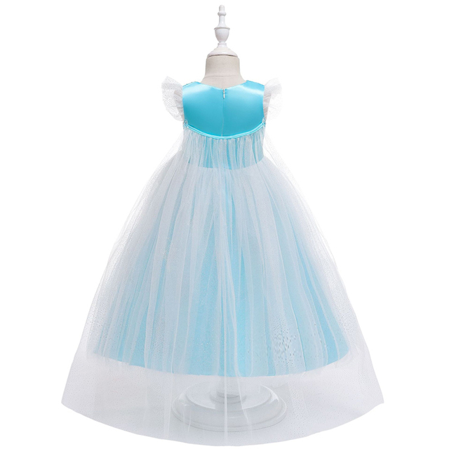 2020 Cosplay Crown Magic Wand Tutu Gown Birthday Dress For Baby Girl Dresses Party Girls Clothing Princess Dress 2 3 6 7 8 Years