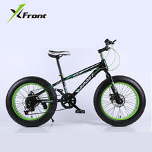 "Original X-Front brand Snowmobile 7,21,24,27 Speeds 20"" Fat Tire disc brake MTB Mountain Bike Off-road gear reduction Beach Bike(China)"
