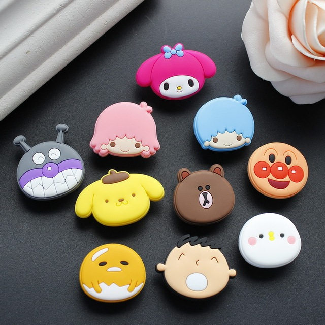 The pudding dog/ Brown bear /Big boy/Bread superman/ Teddy Shoe Accessories Shoe Charms Fit Bands  Jibz Par