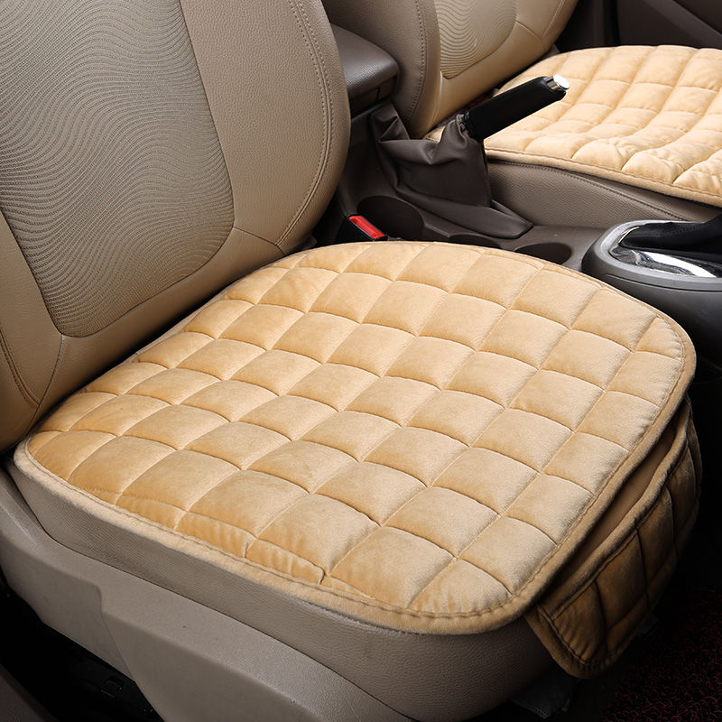 Plush Winter General Cushions Car pad Car Styling Car Seat Cover For BMW Audi Toyota Honda Ford All Cars