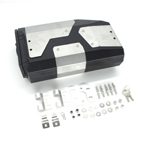 For BMW R1200GS R 1200 GS LC R1250GS/ADV 2013 2019 All New Decorative Aluminum Box Toolbox 4.2 Liters Tool Box Left Side Bracket
