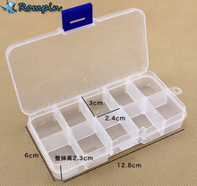 small Plastic Fishing Tackle Boxes Compartments fly fishing hook and lure box Accesorios