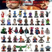Лига справедливости heroes minifigures marvel мстители строительные последним блоки модели super
