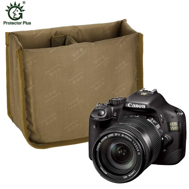 Camera Bag Saddle Bag  Internal Bladder  Shockproof Package  SLR Photo Pack  Thickened Sponge Cover D433(China)