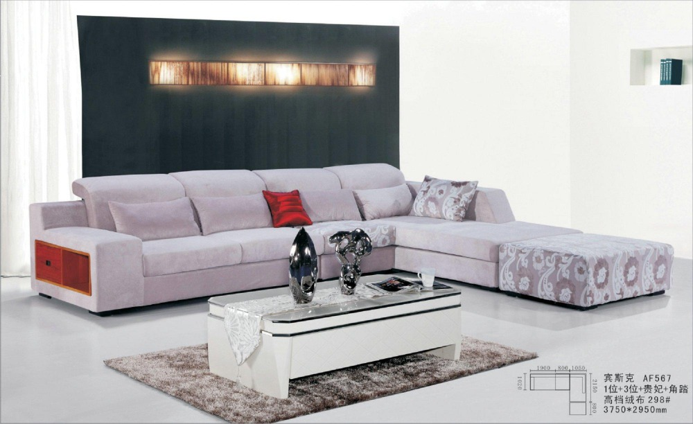 Sofas Nice Fabric Nice Design Fabric Sofa Set 0411 Af567-in Living Room Sets