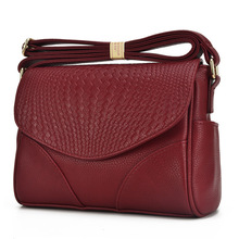 High Quality Fashion Women Messenger Bags Genuine Leather Cowhide Women Small Bag Ladies Handbags Female Crossbody Shoulder Bag go meetting genuine leather women shoulder bags candy color high quality cowhide crossbody bags bucket ladies messenger bag
