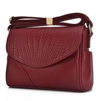 High Quality Fashion Women Messenger Bags Genuine Leather Cowhide Women Small Bag Ladies Handbags Female Crossbody