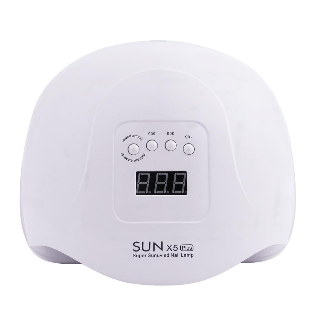 SUN X5 MAX 80W LED UV Lamp Nail Dryer 45 LED Professional For Drying Gel Polish 10/30/60/99s Timer Auto Sensor Nail Art Machine 5