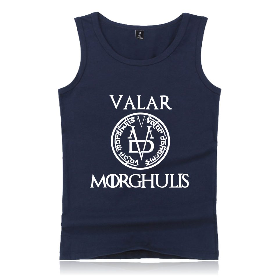 A Song of Ice and Fire Game of Thrones   Tank     Tops   Men Women Casual Fashion Game of Thrones Clothing   Tank     Tops   Vest