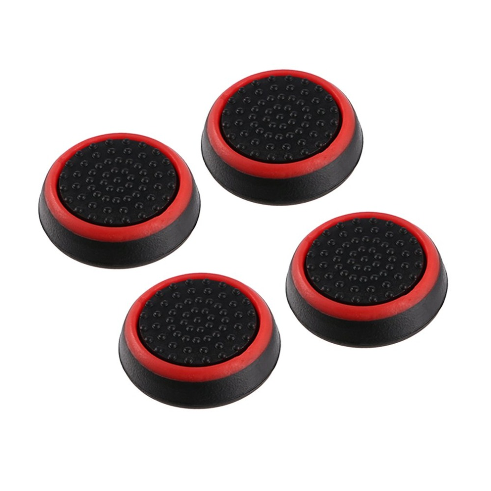 Accessories 4pcs Silicone Anti-slip Striped Gamepad Keycap Controller Thumb Grips Protective Cover For Ps3/4 For X Box One/360 Superior Performance