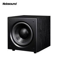 Nobsound SW 120 Wood PMPO 400W 12 inch Active Subwoofer Column Computer Speakers MP3