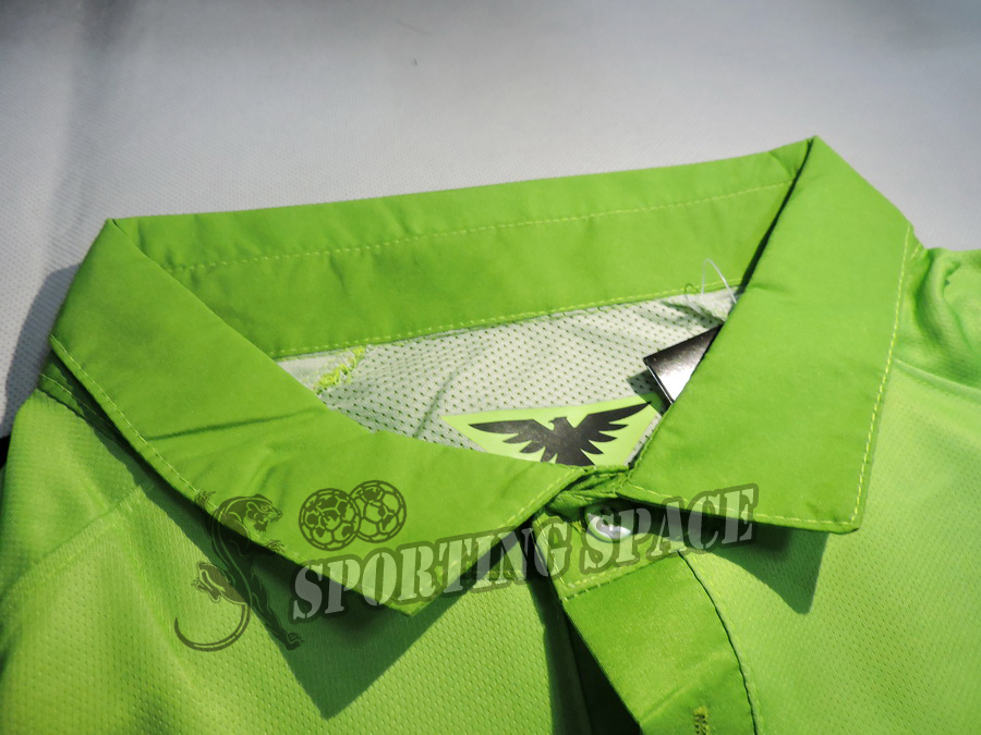 eac672635 Club America Jersey 2015 Third Green O PERALTA SAMBUEZA Soccer Jersey 14 15  Home Yellow Away Black America Football Shirt 3RD on Aliexpress.com
